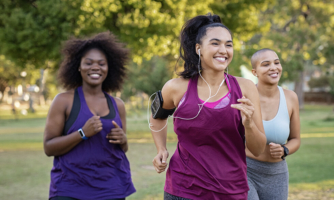 For women with high-risk breast cancer, physical activity is linked to longer survival and a lower risk of their cancer returning.