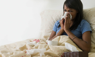 Once the body fights off a virus, like a cold, it retains some disease-fighting cells.