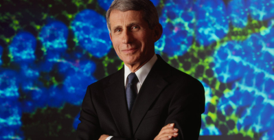 Headshot of Anthony Fauci, M.D., director of the National Institute of Allergy and Infectious Diseases.