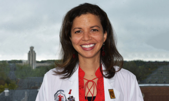 Courtney Fitzhugh, M.D., is working to expand treatment options for sickle cell patients of all ages.