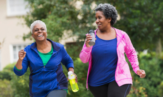 Health benefits from walking can start at 4,000 steps a day for some people, according to a new NIH study.